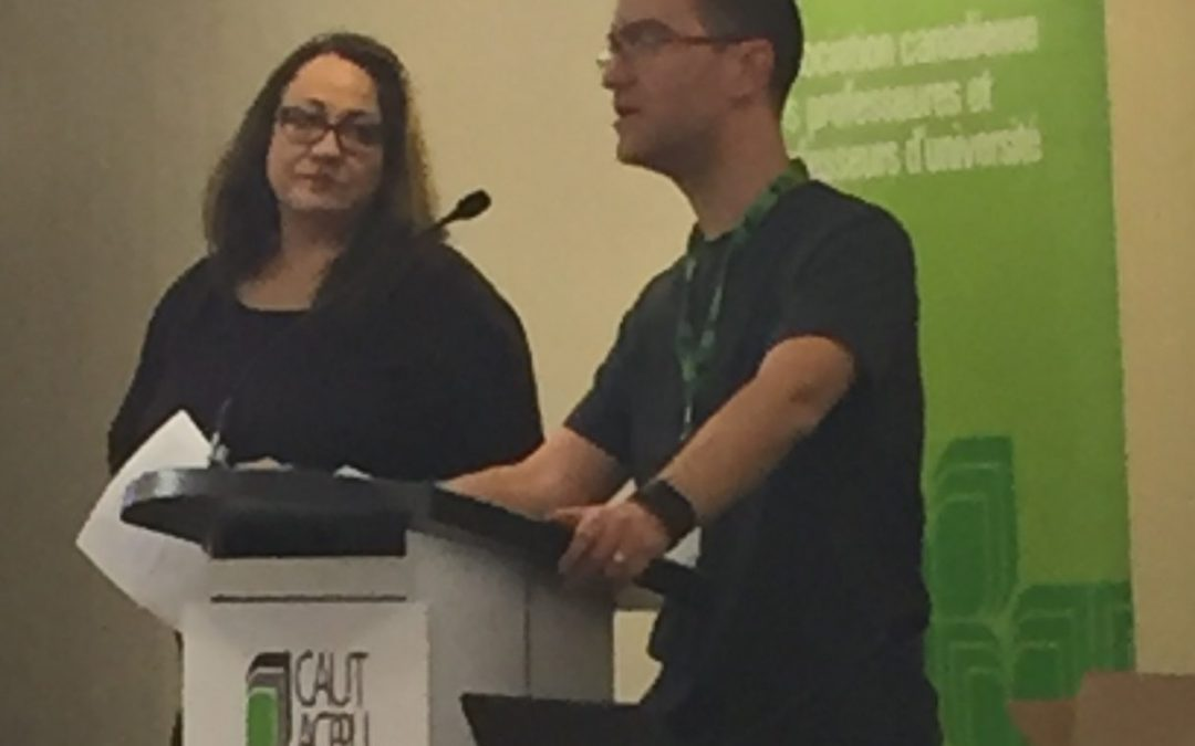 CAUT bargaining teams share experience at annual meeting